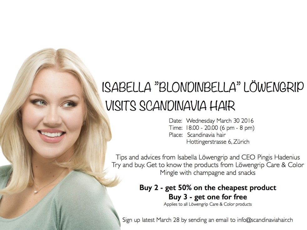 blondinbella care and color